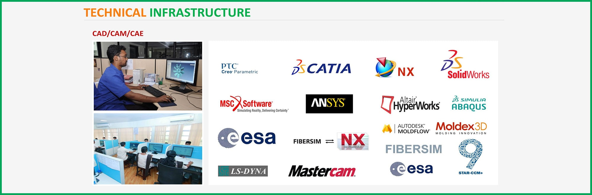 TECHNICAL INFRASTRUCTURE - CAD/CAM/CAE